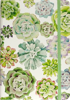 Succulent Garden Small Format Journal