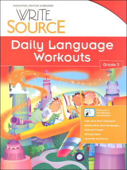 Write Source (2012 Edition) Grade 3 Daily Language Workouts