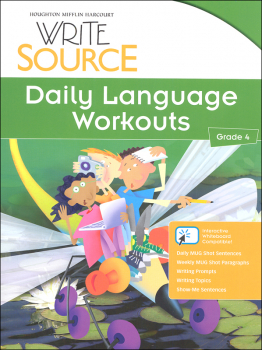 Write Source (2012 Edition) Grade 4 Daily Language Workouts