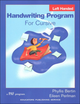 Handwriting Program for Cursive Left-Handed