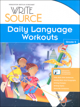 Write Source (2012 Edition) Grade 5 Daily Language Workouts