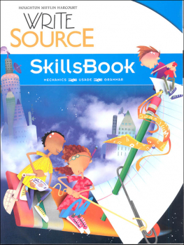 Write Source (2012 Edition) Grade 5 SkillsBook Student