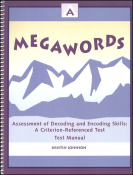 Megawords Assessment 2ED