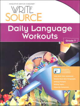 Write Source (2012 Edition) Grade 7 Daily Language Workouts