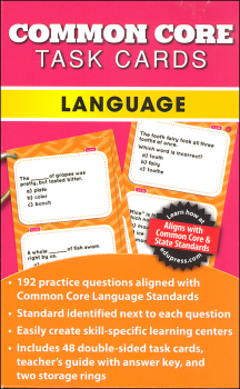 Common Core Language Task Cards Grade 2