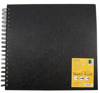 "Sketch Book Spiral-Bound 10""x10"""