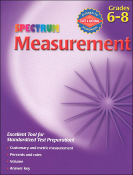 Spectrum Measurement Grades 6-8