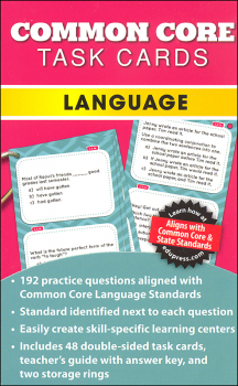 Common Core Language Task Cards Grade 5