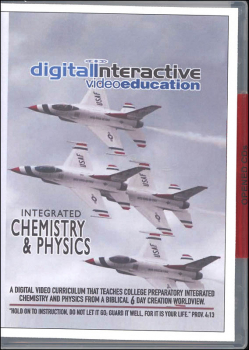 DIVE Integrated Chemistry & Physics Lecture and Lab CD-ROM