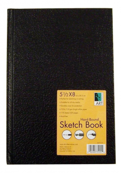 "Sketch Book Hard-Bound 5.5""x8"""