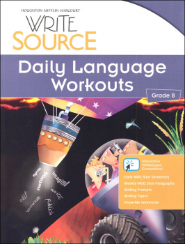 Write Source (2012 Edition) Grade 8 Daily Language Workouts