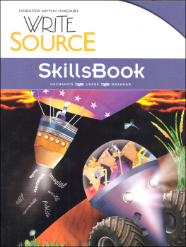 Write Source (2012 Edition) Grade 8 SkillsBook Student