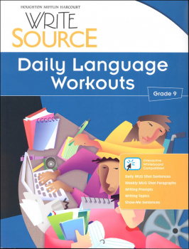 Write Source (2012 Edition) Grade 9 Daily Language Workouts