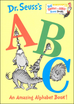 Dr. Seuss's ABC: An Amazing Alphabet Book! Board Book