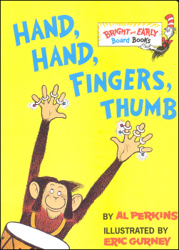 Hand, Hand, Fingers, Thumb Board Book