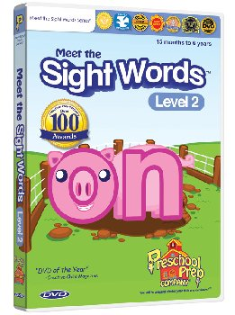 Meet the Sight Words Level 2 DVD