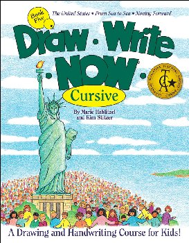 Draw-Write-Now Cursive Book 5