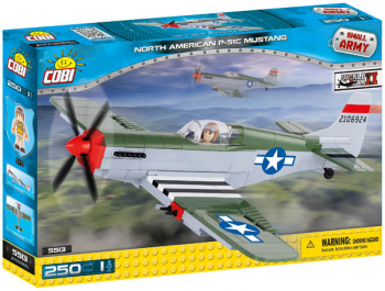 P51 Mustang (Small Army II WW Planes)