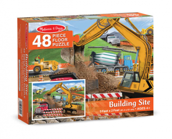 Building Site Floor Puzzle (48 Pieces)