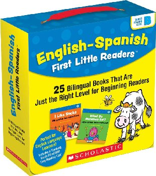 English-Spanish First Little Readers: Level B