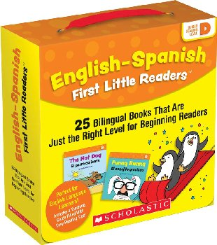 English-Spanish First Little Readers: Level D