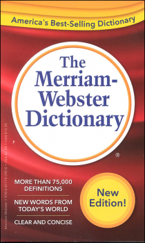 Merriam-Webster Dictionary (Mass-Market Edtn)