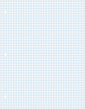 "Pacon Graphing Paper (8 1/2"" x 11"") 100 sheets"