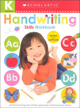 Kindergarten Skills Workbook: Handwriting