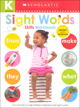 Kindergarten Skills Workbook: Sight Words