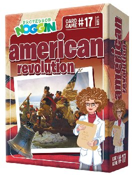 Prof Noggin's American Revolution Card Game