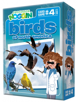 Prof Noggin's Birds of North America Card Game