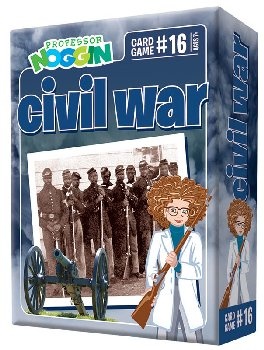 Prof Noggin's Civil War Card Game