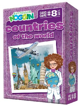 Prof Noggin's Countries of the World Card Game
