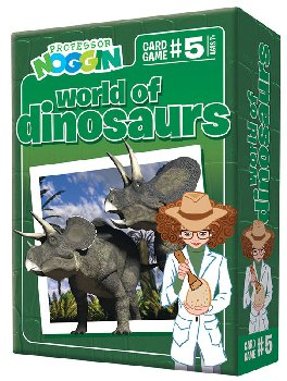 Prof Noggin's Dinosaur Card Game