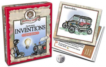 Prof Noggin's Famous Inventions Card Game