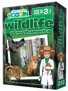 Prof Noggin's Wildlife of North America Card