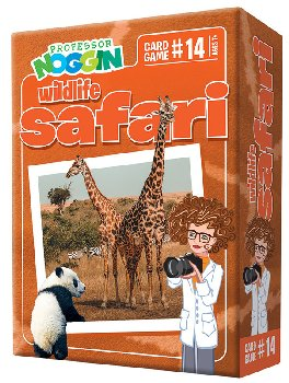 Prof Noggin's Wildlife Safari Card Game