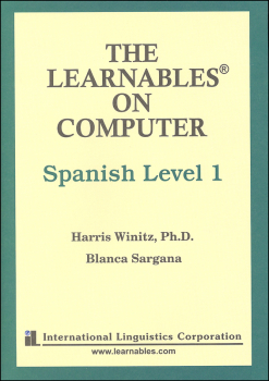 Spanish Level 1 PC - The Learnables 5 Disc Set