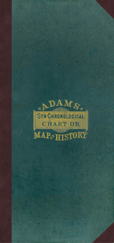 Adams' Chart or Map of History Casebound