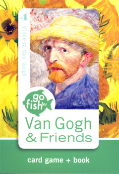 Go Fish for Van Gogh & Friends Art Game Cards