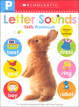Pre-K Skills Workbook: Letter Sounds
