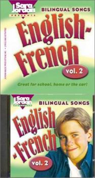 Bilingual Songs Vol 2 English-French Book/CD