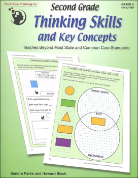 Second Grade Thinking Skills & Key Concepts Student Book