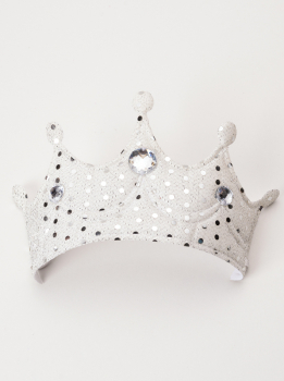 Princess Soft Crown - Silver