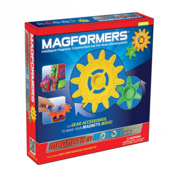 Magformers - Magnets n' Motion Gear Accessory Set