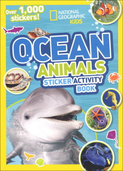 National Geographic Kids On Ocean Animals Sticker Activity Book