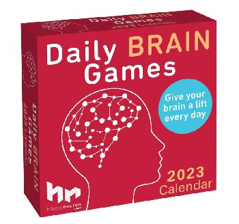 Daily Brain Games 2021 Boxed Calendar