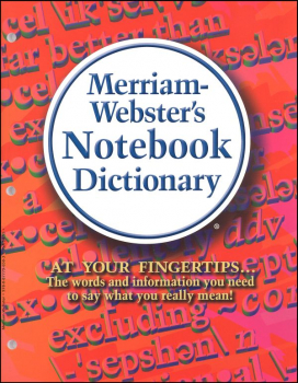 Merriam-Webster's Notebook Dictionary MassMkt