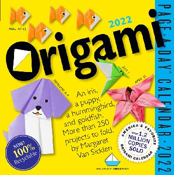 Origami Page-A-Day 2021 Calendar