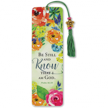 Be Still, and Know That I Am God Beaded Bookmark